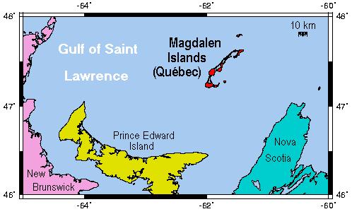 Magdalen map