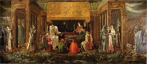 Burne-Jones Last Sleep of Arthur in Avalon
