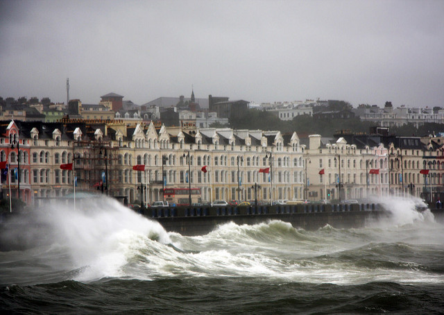 Stormy day on the promenade Photo by: Jim Weir CC BY 2.0
