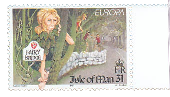 Fairy Bridge Stamp Source: Cuentos, Illustradores y Filafelia CC BY-SA 3.0