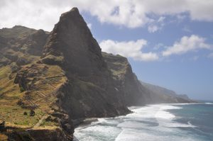 Coastline of Santo Antao Photo by: Konstantin Krismer CC BY 3.0