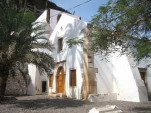 Church of Nossa Senhora do Rosario, the world's oldest colonial church, built 1495 Cidade Velha, Santiago Cabo Verde