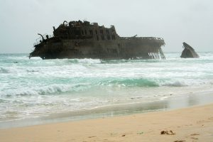 Another shipwreck- Cabo Santa Maria, Isla de Boavista Photo by: Isidro Lopez-Arcos CC BY-ND 2.0