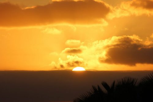 A spectacular Atlantic sunset on Cabo Verde