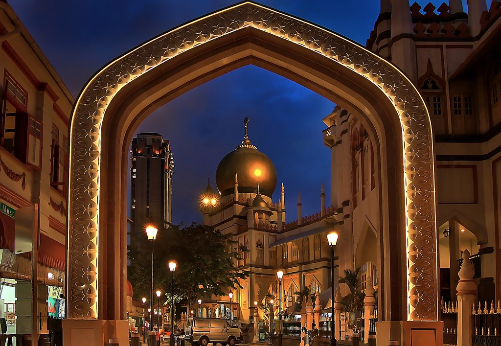 Gateway to Sultan Mosque Photo by: Erwin Soo CC BY-SA 2.0