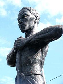 Paul Bogle statue, Morant Bay Photo credit: dubdemsoundsystem CC BY 2.0