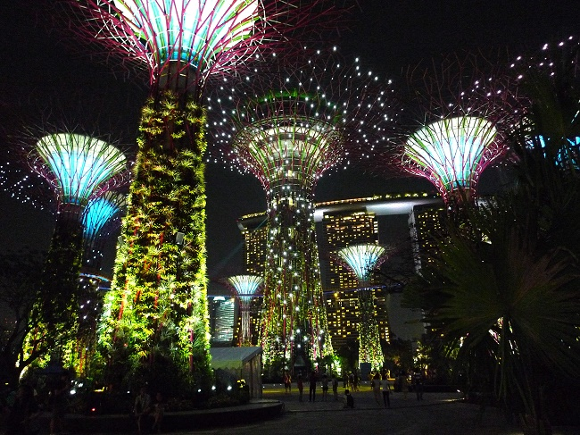 Supertree Grove, Gardens by the Bay Photo by: tee_eric CC BY 2.0