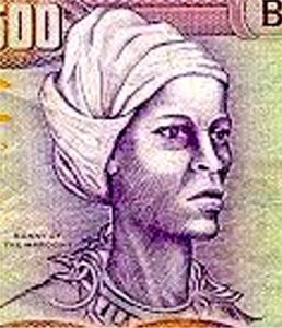 Nanny de Maroon (leader of a slave revolt on Jamaica) Credit: Boswellspoetry.wikispaces.com CC BY-SA 3.0