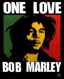 Bob Marley, One Love Credit: fallenstarnbabylon CC BY-SA 2.0