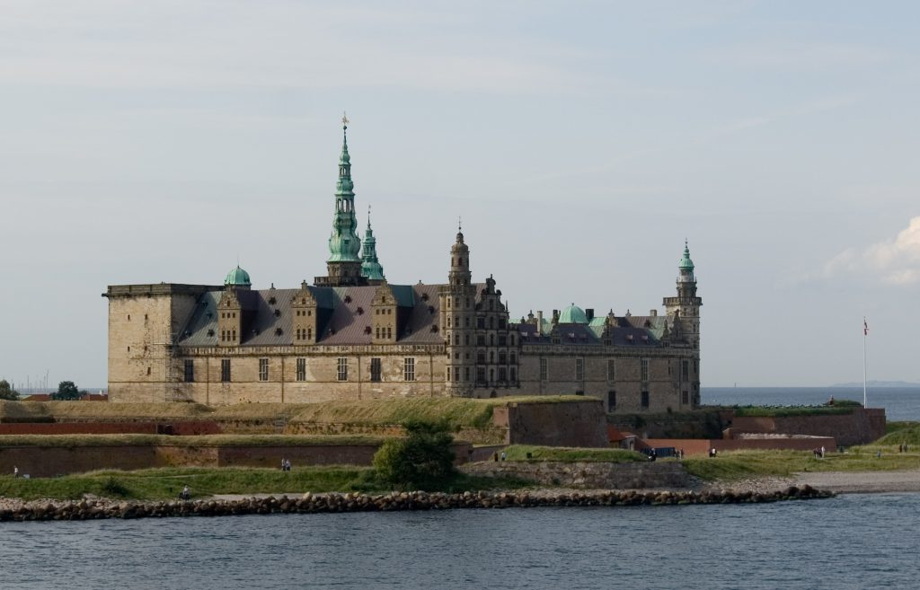 Helsingoer Kronborg Castle, Zealand - The setting for Shakespeare's Hamlet