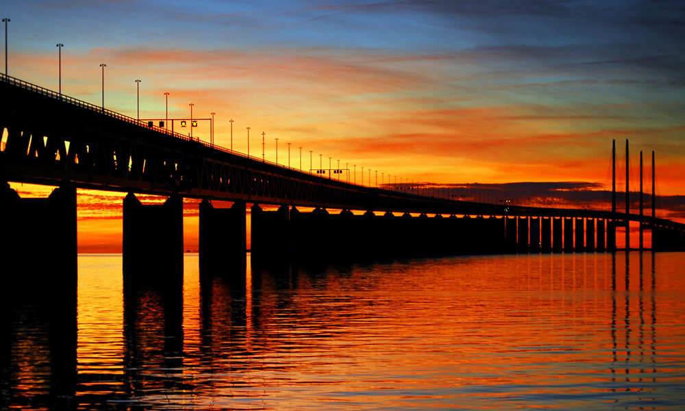 Oresund Bridge Photo by:P Richard Dennis CC BY 2.0