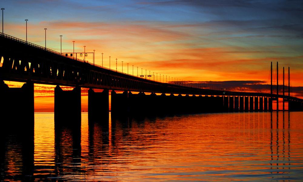Oresund Bridge Photo by:P Richard Dennis CC BY 2.0