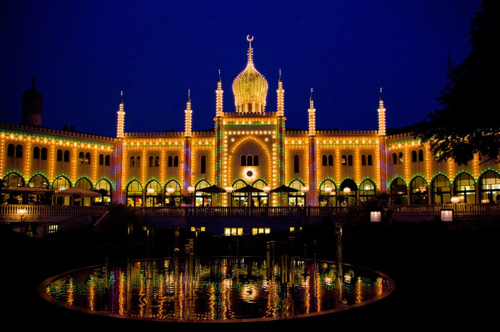 Moorish Palace in Tivoli, Copenhagen Photo by: Pelle Sten CC BY 2.0